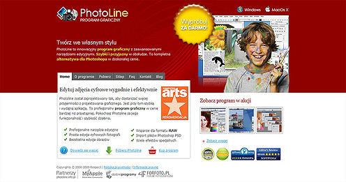 Photoline - program graficzny